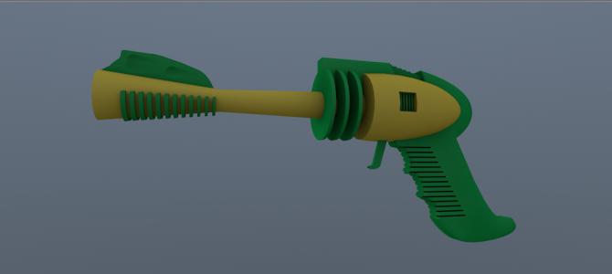 Strato gun [Free C4D Model]