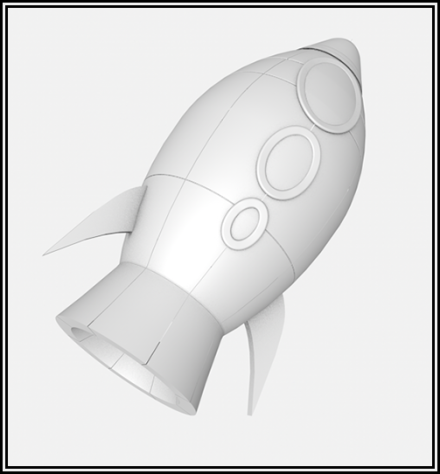 Spaceship speed modeling