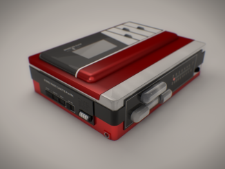 Walkman Render